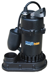 Picture of HPSPCIT4500 - Cast Iron Submersible Sump Pump with Tether Float Switch, 115 V, 1/2 HP, 4500 GPH