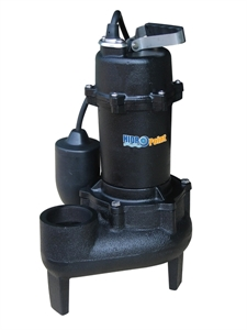 Picture of HPSWCIT7000 - Submersible Cast Iron Sewage Pump, 115 V, 6/10 HP, 7000 GPH